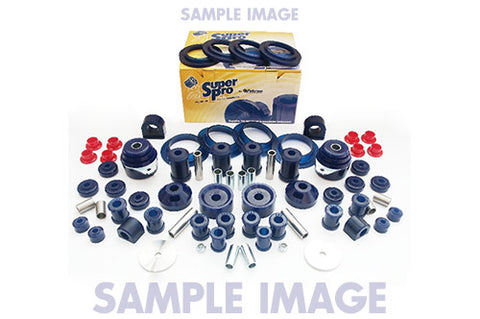SuperPro Front & Rear Suspension Bush Kit 12-Pc KIT5258K for Mazda MX5 NC30F1 05-07