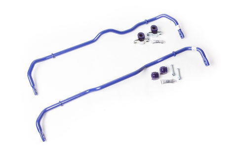 SuperPro 24mm Front & 24mm Rear Adj. Sway Bar Kit RC0006-KIT for Volkswagen Golf Mk5 4WD Versions Inc. R32 Mk5 Typ1K1 05-08