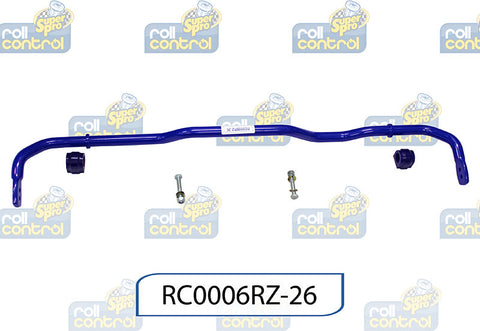 SuperPro 24mm Extra Heavy Duty Adj. Sway Bar RC0006RZ-26 for Volkswagen Golf Mk5 4WD Versions Inc. R32 Mk5 Typ1K1 03-09