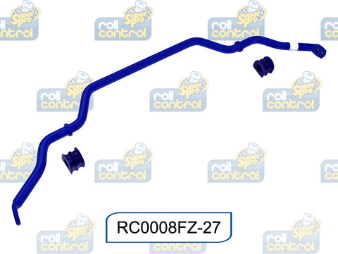 SuperPro 27mm Heavy Duty Blade Adj. Sway Bar RC0008FZ-27 for Nissan 370Z Z34 Coupe & Roadsetr 09 -