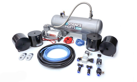 Coilover Air Lift Cup System KIT Anteriore + Posteriore