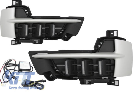 BMW X5 F15 2013+ LED DRL Daytime Running Lights