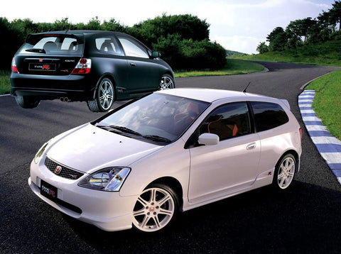 Aerodynamics Lip Kit Polyester Type R (Civic 01-03 3dr)