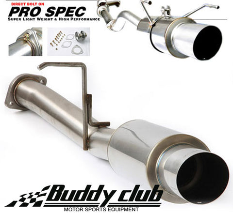 BUDDY CLUB PRO SPEC III EU DC2 TYPE R CAT BACK ( see full description )