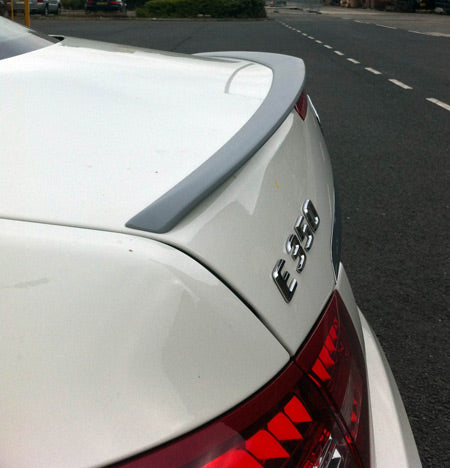 MERCEDES  W207 + C207 AMG  POSTERIORE  BOOT SPOILER ABS- 2010 onwards - REPLICA -