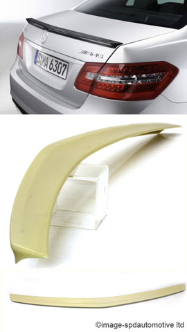 MERCEDES W212 BOOT SPOILER AMG STYLE - 2010 Onwards - REPLICA -