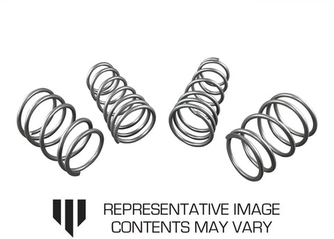 WHITELINE Coil Springs - lowered ANTERIORE E POSTERIORE SUBARU IMPREZA WRX VA SEDAN   4/2014+ 4CYL