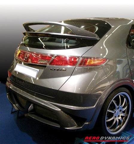 Aerodynamics Spoiler Double (Civic 07-11 3/5dr)