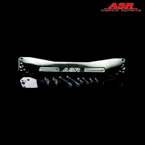 ASR Subframe Reinforcement Brace Polished Silver (Civic 95-01 2/3/4dr)