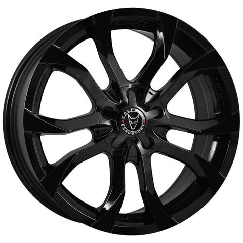 Wolfrace Eurosport Assassin 20 x 8.5 ET 35 5x112  Gloss Black