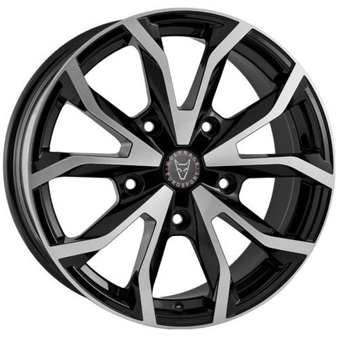 Wolfrace Eurosport Assassin TRS 18 x 8 ET 50 5x160  Gloss Black / Polished