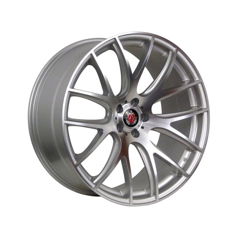 AXE CS LITE 19x8,5 ET35 SILVER/POLISHED FACE