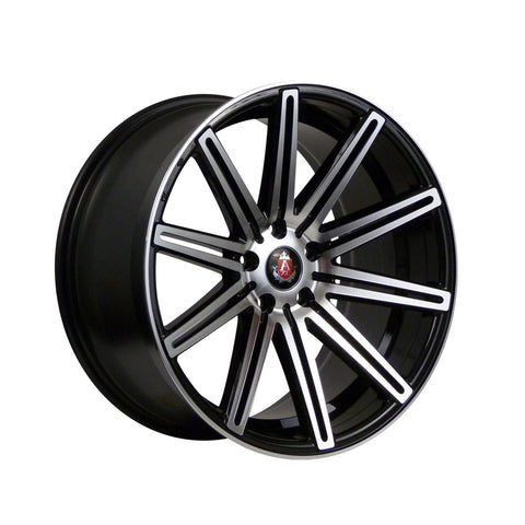 AXE EX15 18x8 ET35 BLACK/POLISHED FACE