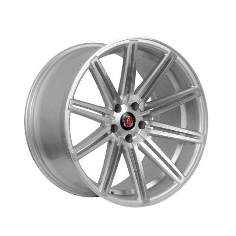 AXE EX15 18x8 ET35 SILVER/POLISHED FACE
