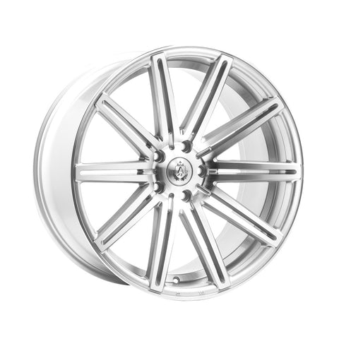 AXE EX15 18x9 ET40 SILVER/POLISHED FACE