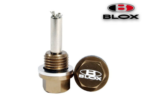 BLOX Racing Magnetic Transmission Oil Drain Plug (Honda)