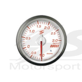 DSD-CS Manometro Bianco Pressione Turbo 3 bar