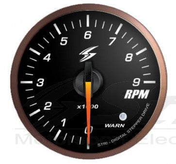 DSD-CS Manometro Nero  Tachometer