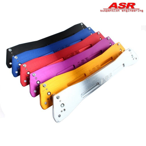 ASR Subframe Reinforcement Brace Red (Civic 91-96/Del Sol)