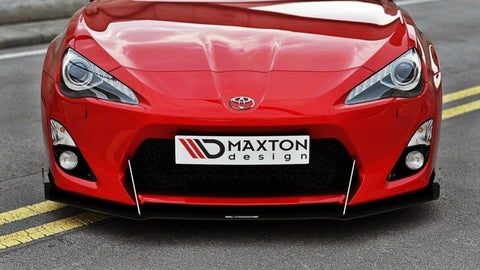 SPLITTER RACING ANTERIORE TOYOTA GT86 (WITH WINGS)