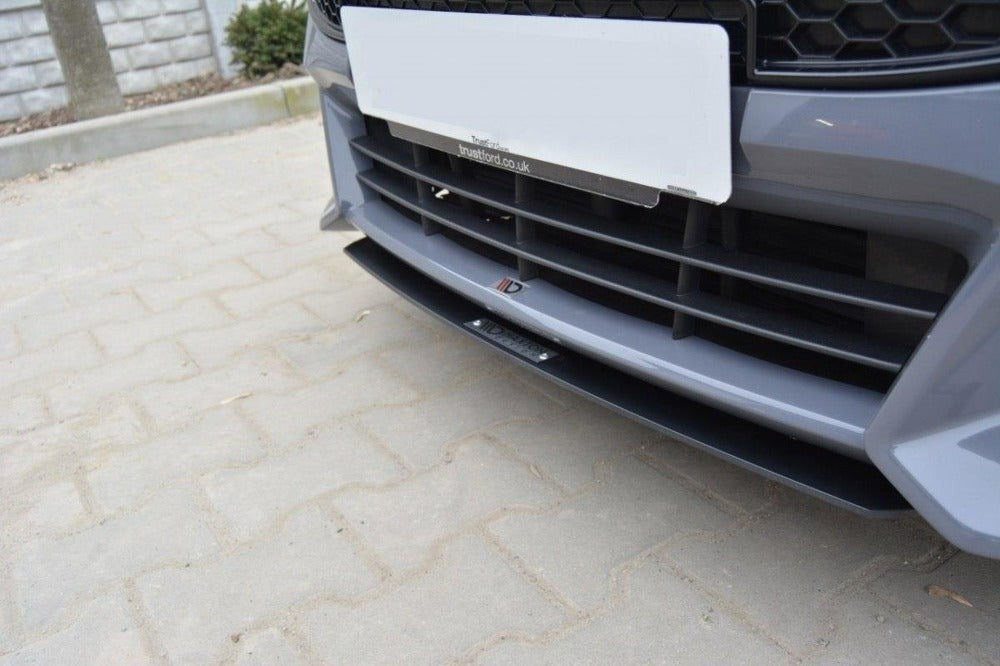 Spoilers Front Splitter v.3 Compatible with Ford Focus ST MK3 ...