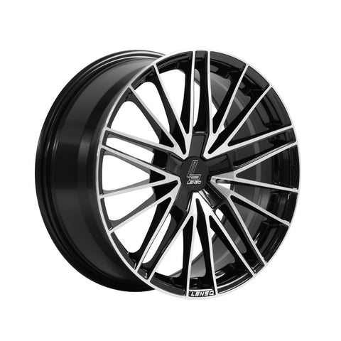 LENSO ESD 18x8 ET43 BLACKPOLISHED FACE