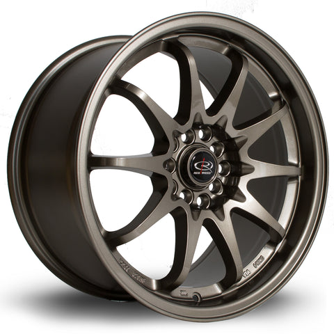 Rota Wheels Fight 17x9 ET50 5x100~5x114 Bronze