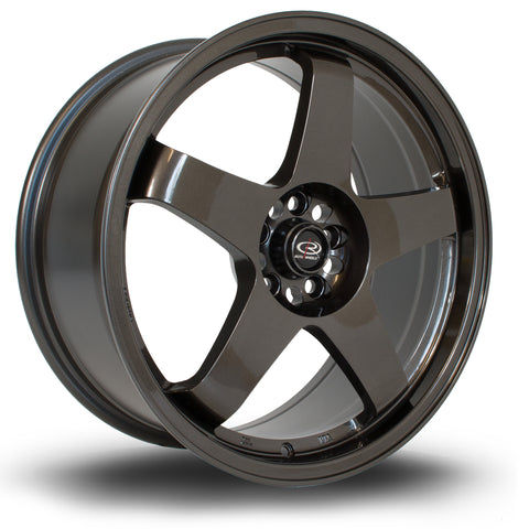 Rota Wheels GTR 18x8.5 ET35 5x114 Gun Metal