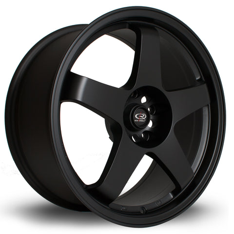 Rota Wheels GTR 18x8 ET48 4x114 Full Black