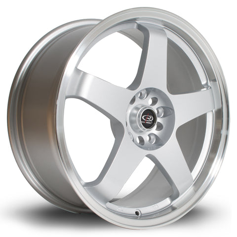Rota Wheels GTR 18x8 ET48 5x114 Silver Polished
