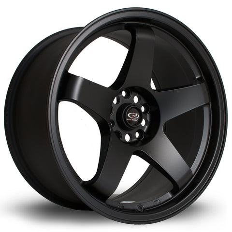 Rota Wheels GTR 18x9.5 ET30 5x114 Full Black