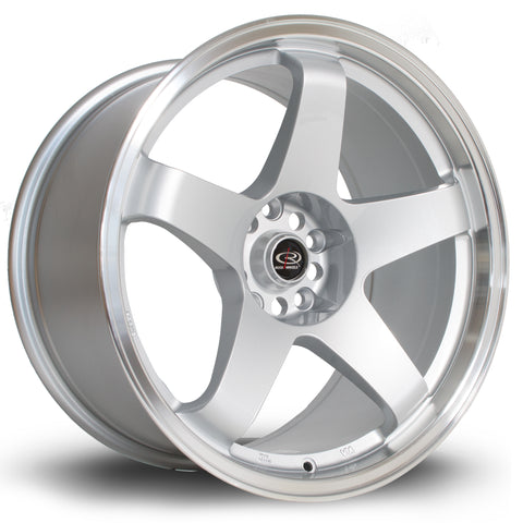 Rota Wheels GTR 18x9.5 ET30 5x114 Silver Polished