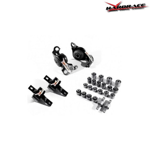 Hardrace Suspension Bushing Set 26 Pieces (Civic 91-96 & Del Sol ESi/VTi)