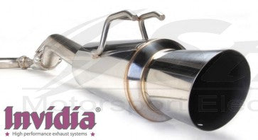 Honda Prelude 92/96 BB1/2/3 exhaust Cat-back (scarico centrale + Terminale) GT300
