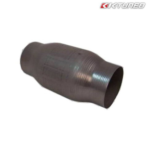 K-Tuned Race Catalytic Converter/Test Pipe 200-Cell 2.50'' (Universal)