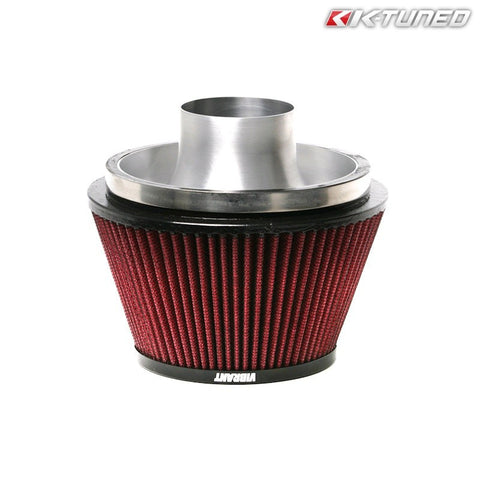 "K-Tuned Velocity Stack Air Filter Combo 3.0"" (Universal)"