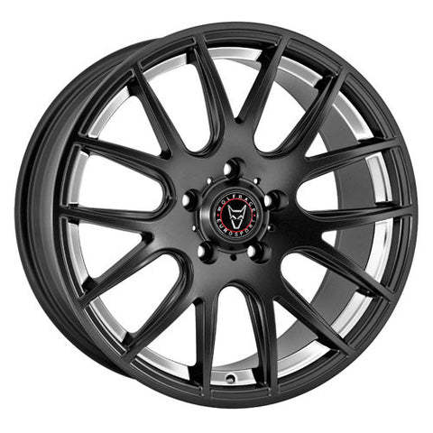 Wolfrace Eurosport Munich 20 x 8.5 ET 45 5x120  Satin Black / Polished Undercut