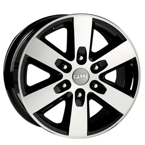 CARRE Ranger 16 x 7 ET 55 6x130  Gloss Black / Polished