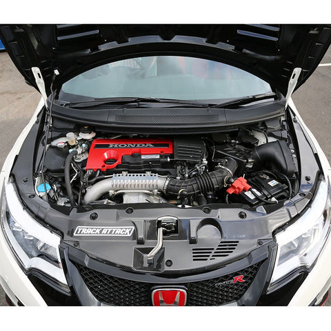 TEGIWA CARBON FIBRE ENGINE COVER HONDA CIVIC TYPE R FK2