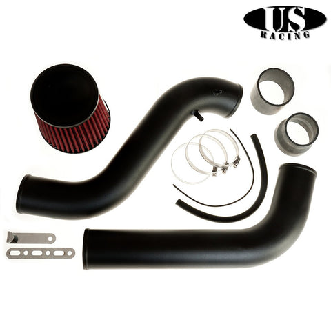 US-Racing Aspirazione CAI cold air intake Black (Prelude/Accord 92-02)