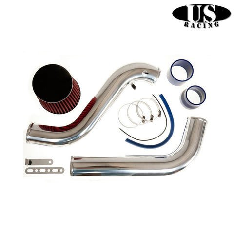 US-Racing Aspirazione CAI cold air intake Polished (Prelude/Accord 92-02)