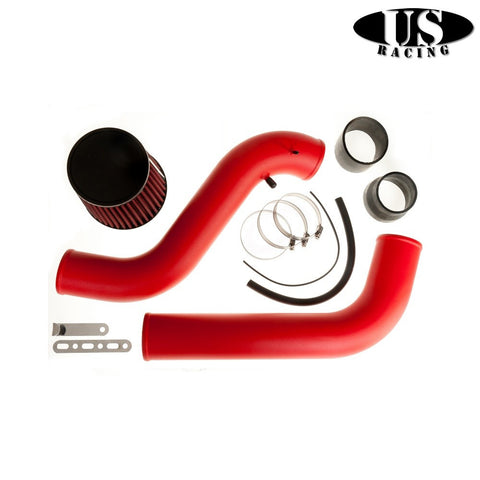 US-Racing Aspirazione CAI cold air intake Red (Prelude/Accord 92-02)