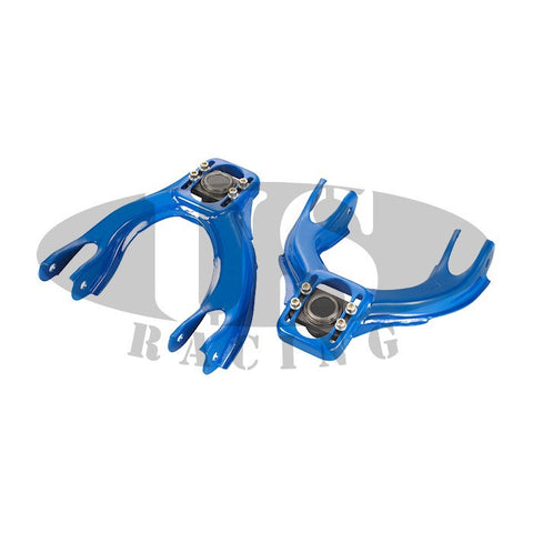 US-Racing Anteriore Arm Camber Correction Kit Blue (Civic 91-96/Del Sol/Integra)