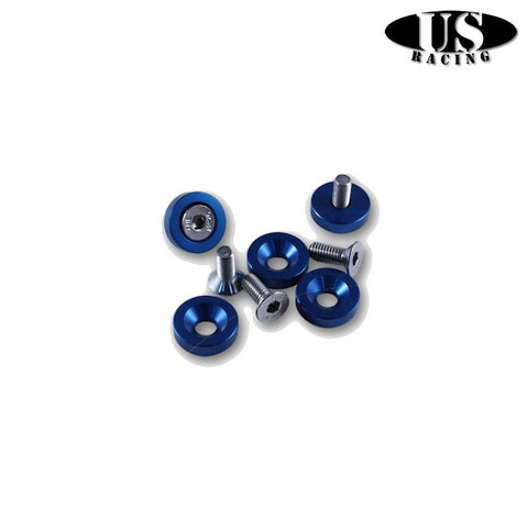 US-Racing Viteria in Ergal Fender Washers M6x20 Blue (Universal)