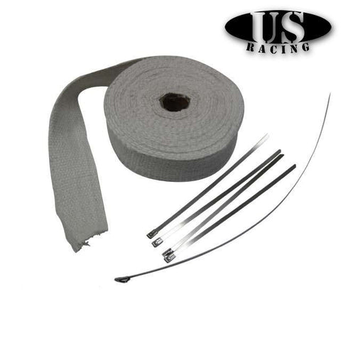 US-Racing Heatwrap White (Universal)