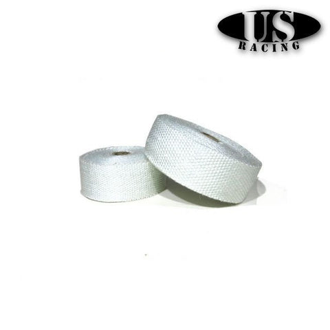 US-Racing Heatwrap White 800°C (Universal)
