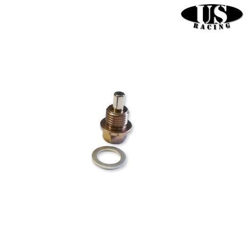 US-Racing Magnetic Oil Drain Plug Bronze (Honda/Mitsubishi)