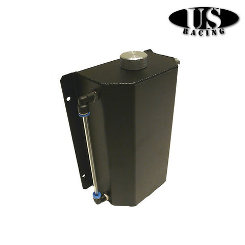 US-Racing Oil Catch Tank Large Black (Universal)