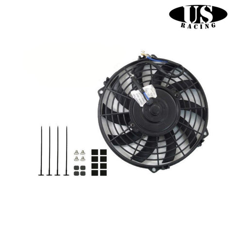 US-Racing Slim Fan Curved Blade 12V (Universal)