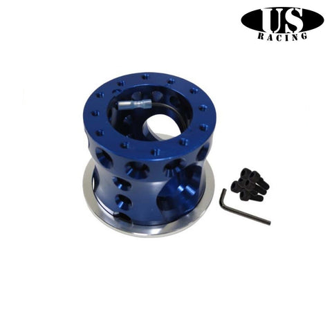 US-Racing Flangia Distanziale Volante Sportivo Blue (Civic 91-96/Del Sol/Integra 94-01)